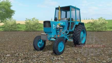 ЮМЗ-6КЛ голубой окрас для Farming Simulator 2017