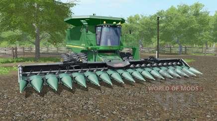 John Deere 9770 STS spanish green для Farming Simulator 2017