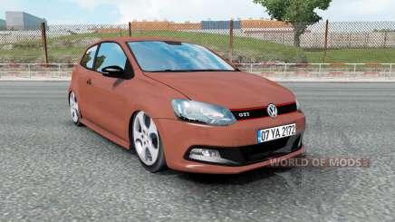 Volkswagen Polo GTI (Typ 6R) 2011 для Euro Truck Simulator 2