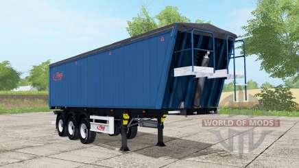 Fliegl DHKA venice blue для Farming Simulator 2017