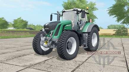 Fendt 927-939 Vario MoreRealistic для Farming Simulator 2017