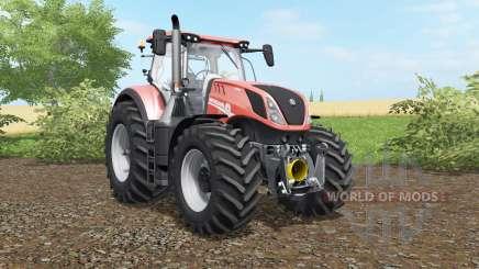 New Holland T7.290 & T7.315 для Farming Simulator 2017