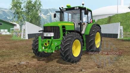 John Deere 6830 Premium islamic green для Farming Simulator 2015