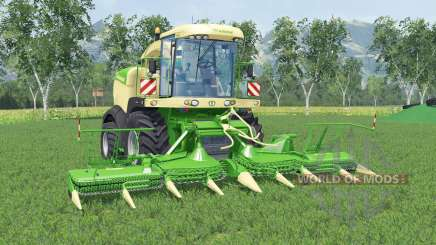 Krone BiG X 580 lime greeɳ для Farming Simulator 2015