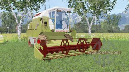 Claas Dominator 86 olive green для Farming Simulator 2015