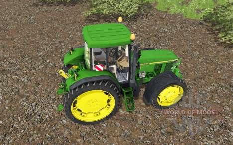 John Deere 7810 для Farming Simulator 2017