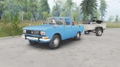 Москвич-2315 синий окрас для Spin Tires