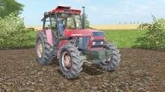 Ursus 1614 fiery rose для Farming Simulator 2017
