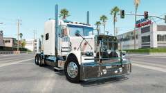 Peterbilt 389 rose white для American Truck Simulator