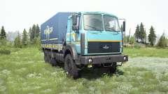 МАЗ-6317 v1.3 для MudRunner