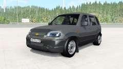 Chevrolet Niva тёмно-серый окрас для BeamNG Drive