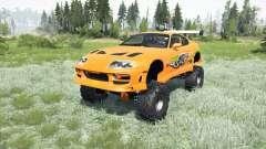Toyota Supra Fast & Furious (JZA80) 2001 4x4 для MudRunner