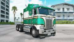 Kenworth K100E munsell green для American Truck Simulator