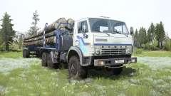 КамАЗ-4310 лесовоз для MudRunner