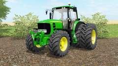 John Deere 7430&7530 Premiuɱ для Farming Simulator 2017