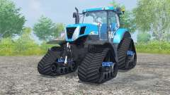 New Holland T7030 track systems для Farming Simulator 2013