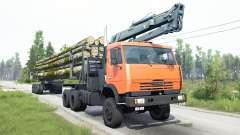 КамАЗ-65111 для MudRunner