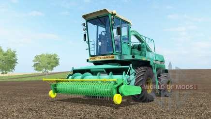 Дон-680 бирюзовый окраҫ для Farming Simulator 2017