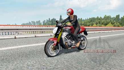 Motorcycle Traffic Pack v3.0.1 для Euro Truck Simulator 2