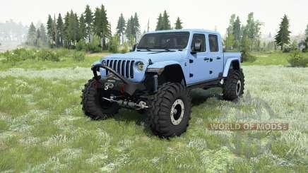 Jeep Gladiator (JT) 2019 для MudRunner