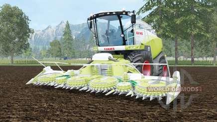 Claas Jaguar 870 june bud для Farming Simulator 2015