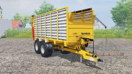 Veenhuis W400 deep lemon для Farming Simulator 2013