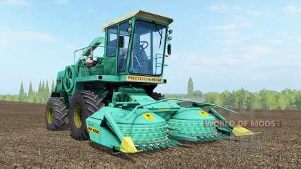 Дон-680 бирюзовый окрас для Farming Simulator 2017