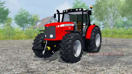 Massey Ferguson 6480 для Farming Simulator 2013