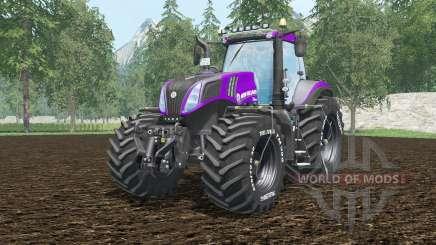 New Holland T8.420 vivid mulberry для Farming Simulator 2015