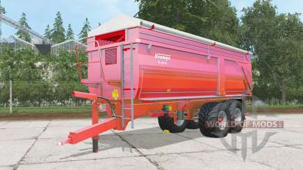 Krampe Big Body 750 S для Farming Simulator 2015
