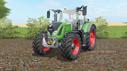 Fendt 716-724 Vario lightscript для Farming Simulator 2017