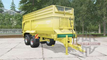 Krampe Bandit 750 arylide yellow для Farming Simulator 2015