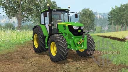 John Deere 6115M wheel shader для Farming Simulator 2015