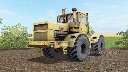 Кировец К-700А мягко-жёлтый окраҫ для Farming Simulator 2017