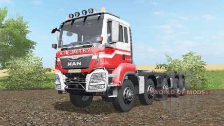 MAN TGS hooklift 2015 для Farming Simulator 2017
