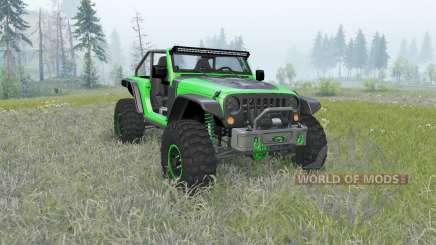Jeep Wrangler (JK) Trailcat для Spin Tires