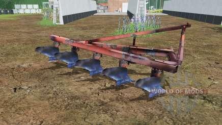 ПЛН 5-35 умеренно-красный окрас для Farming Simulator 2015
