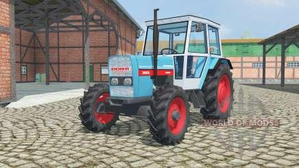 Eicher 3066A dark turquoise для Farming Simulator 2013