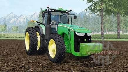 John Deere 8400R pantone green для Farming Simulator 2015
