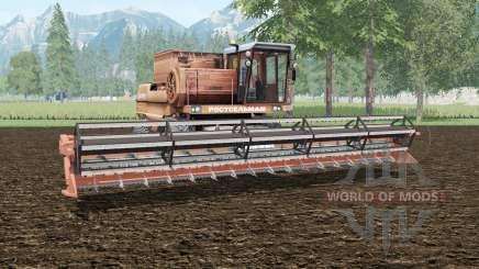 Дон-1500А ненасыщенно-оранжевый окрас для Farming Simulator 2015