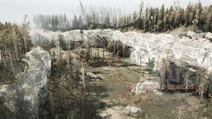 Белый каньон v0.1 для MudRunner