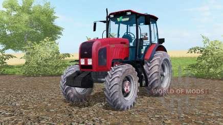 МТЗ-2022.3 Беларус ярко-красный окрас для Farming Simulator 2017