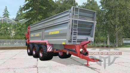 Strautmann PS 3401 cadet grey для Farming Simulator 2015
