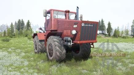 Кировец К-700 мягко-красный окрас для MudRunner