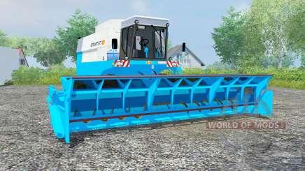 Fortschritt E 517 vivid sky blue для Farming Simulator 2013