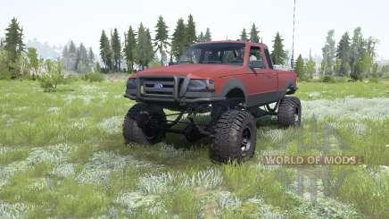 Ford Ranger Super Cab 2009 для MudRunner