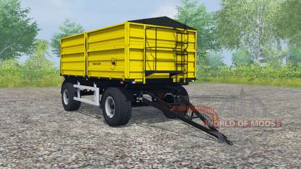 Wielton PRS-2-W14 safety yellow для Farming Simulator 2013
