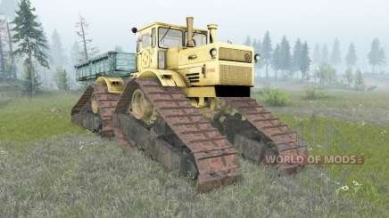 Кировец К-700А гусеничный для Spin Tires