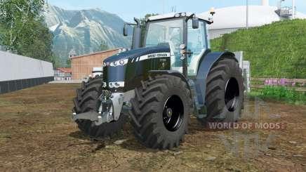 Massey Ferguson 7726 black для Farming Simulator 2015