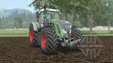 Fendt 939 Vario wheel shader для Farming Simulator 2015